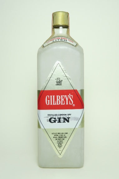 Gilbey's London Dry Gin - 1970s (40%, 100cl)