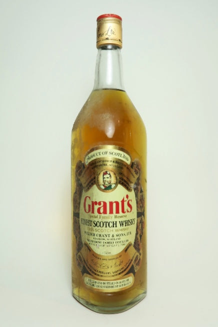 Grant's Special Family Reserve Finest Blended Scotch Whisky - 1970s (43%, 100cl)