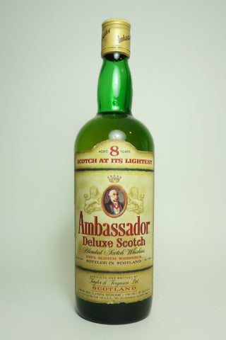 Taylor & Ferguson Ambassador Deluxe Blended Scotch Whisky - 1970s (40%, 75cl)