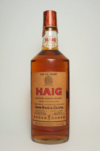 John Haig's Haig Blended Scotch Whisky - 1960s (43%, 94.6cl)