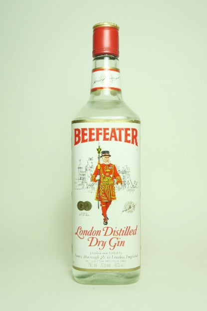 Beefeater London Distilled Dry Gin - Late 1970s (40%, 75cl)