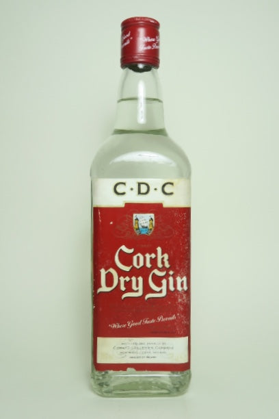 Cork Dry Gin - 1980s (38%, 70cl)