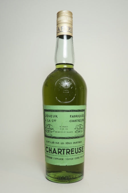 Chartreuse, Green Voiron - 1970s (55%, 71cl)