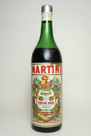 Martini & Rossi Red Vermouth - 1950s (16%, 100cl)