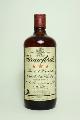 A. A. Crawford's 3* Special Reserve Blended Scotch Whisky - 1970s (40%, 75cl)