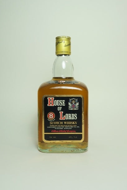 William Whiteley's House of Lords 8YO Blended Scotch Whisky - 1970s (40%, 75cl)