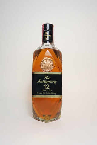 The Antiquary 12YO Blended Scotch Whisky - 1970s (40%, 75cl)