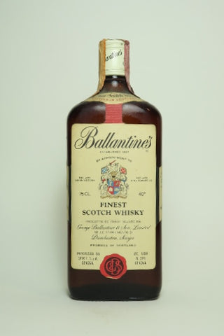 Ballantine's Finest Blended Scotch Whisky  - 1970s (40%, 75cl)