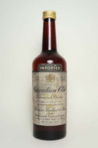 Canadian Club Blended Canadian Whisky - 1970s (40%, 75cl)