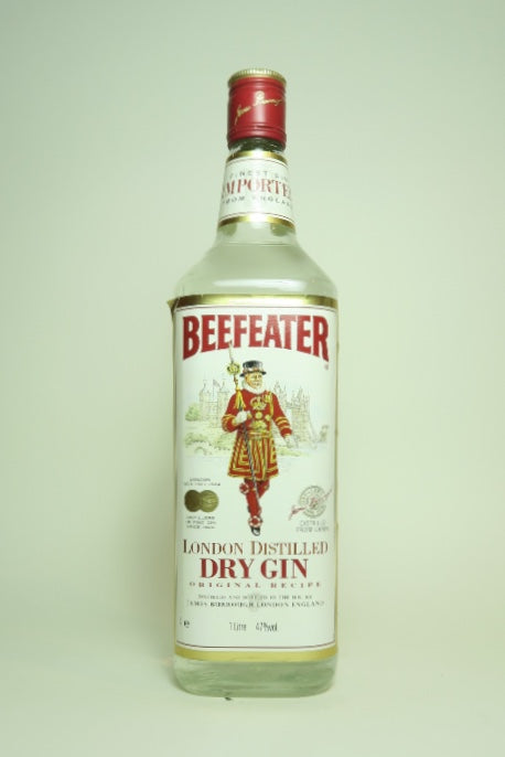 Beefeater London Dry Gin - Late 1970s (47%, 100cl)