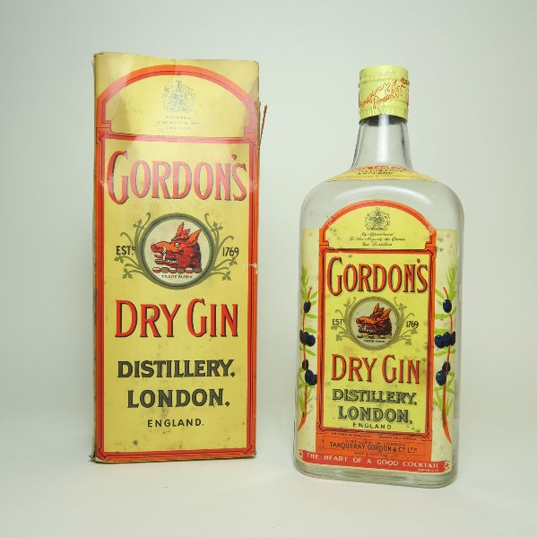 Gordon's London Dry Gin - 1950s (ABV Not Stated, 75cl)