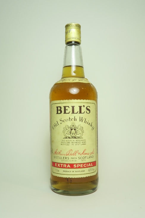 Arthur Bell's Old Scotch Blended Whisky - 1980s (43%, 100cl)