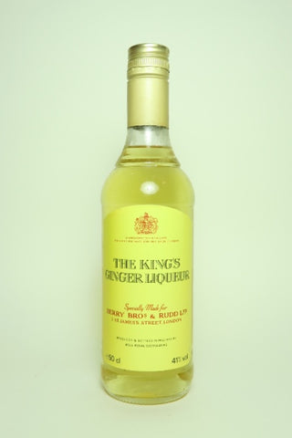 Berry Brothers & Rudd The King's Ginger Liqueur - 1980s (41%, 50cl)
