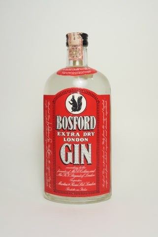Martini & Rossi Bosford Extra Dry London Gin - 1960s (46%, 75cl)