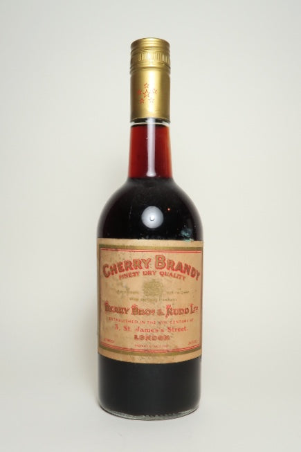 Berry Brothers & Rudd Finest Dry Quality Cherry Brandy	- 1970s (24%, 75cl)