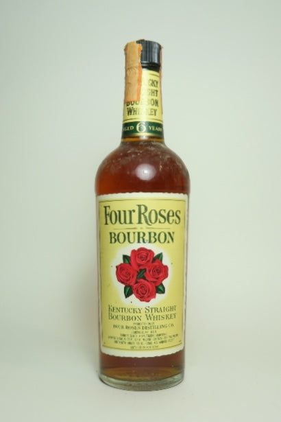 Four Roses 6YO Kentucky Straight Bourbon Whiskey - Distilled 1974 / Bottled 1982 (43%, 75cl)