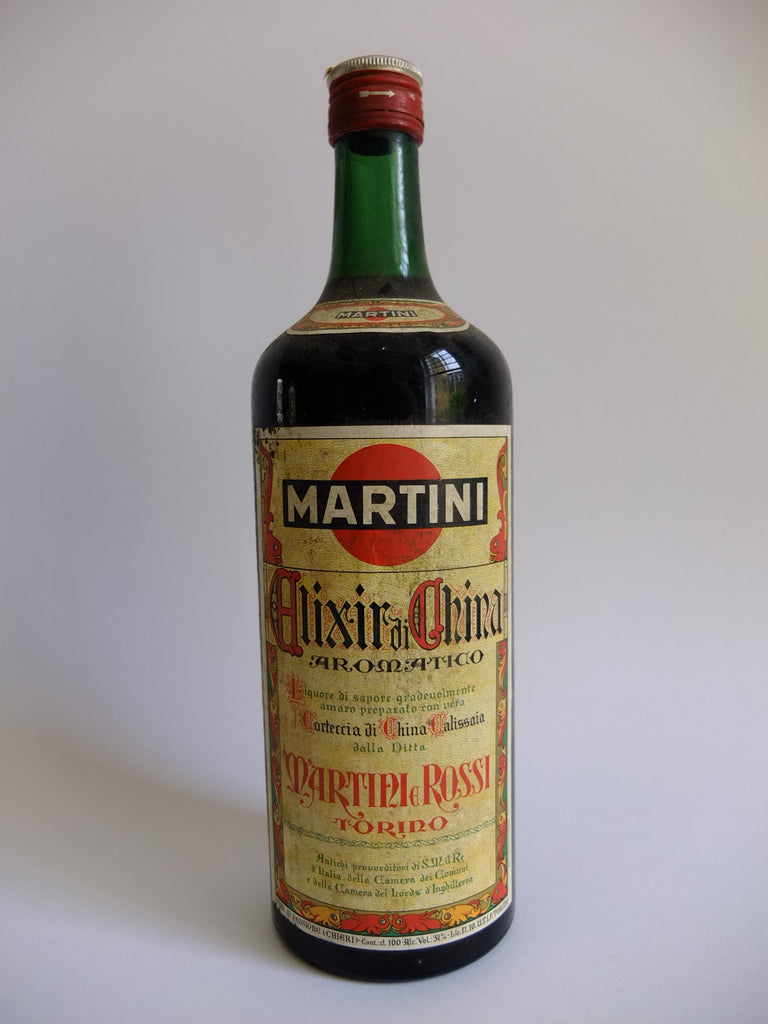Martini & Rossi Elixir di China Aromatico - Late 1960s/Early 1970s (31%, 100cl)