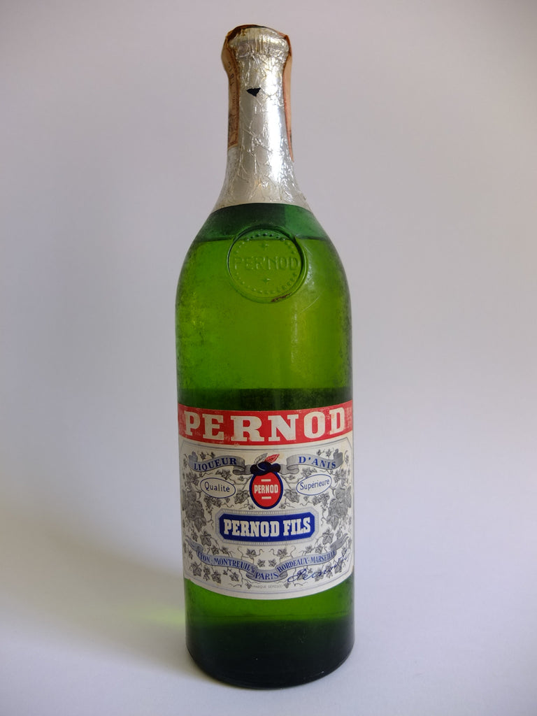 Pernod Fils Liqueur d'Anis - Late 1960s/Early 1970s (45%, 100cl)