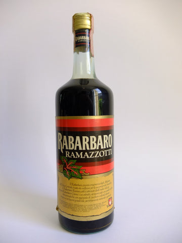 Ramazzotti Rabarbaro - Late 1960s/Early 1970s (18%, 100cl)