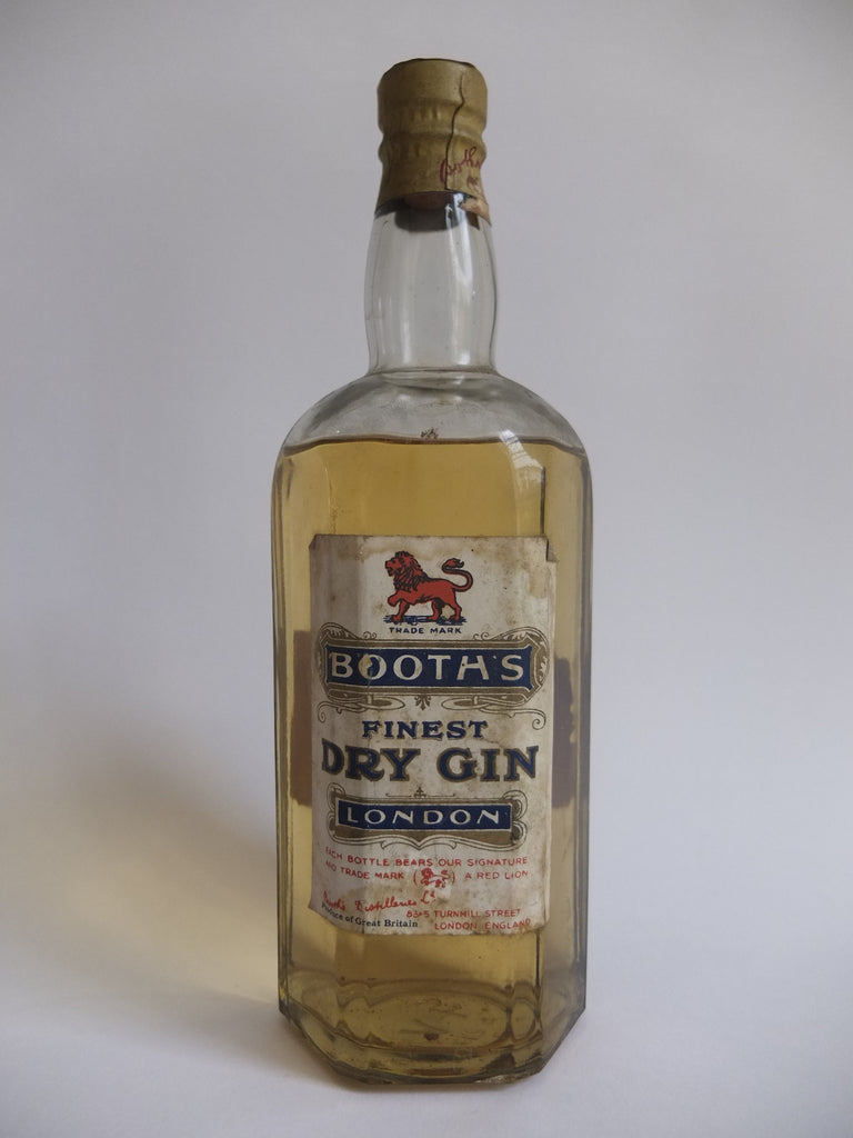 Booth's Finest Dry Gin - 1943 (40%?, 75cl?)