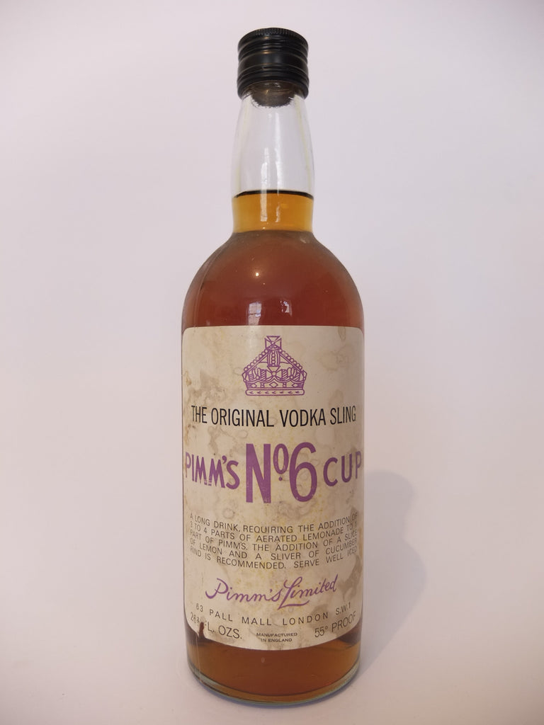 Pimm's No. 6 Vodka Cup - 1960s (31%, 75cl)