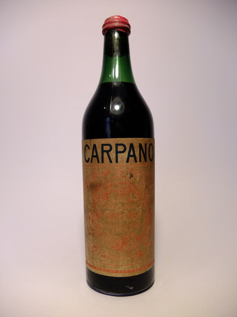 Carpano, Punt e Mes - 1945 (Unknown ABV, 100cl)
