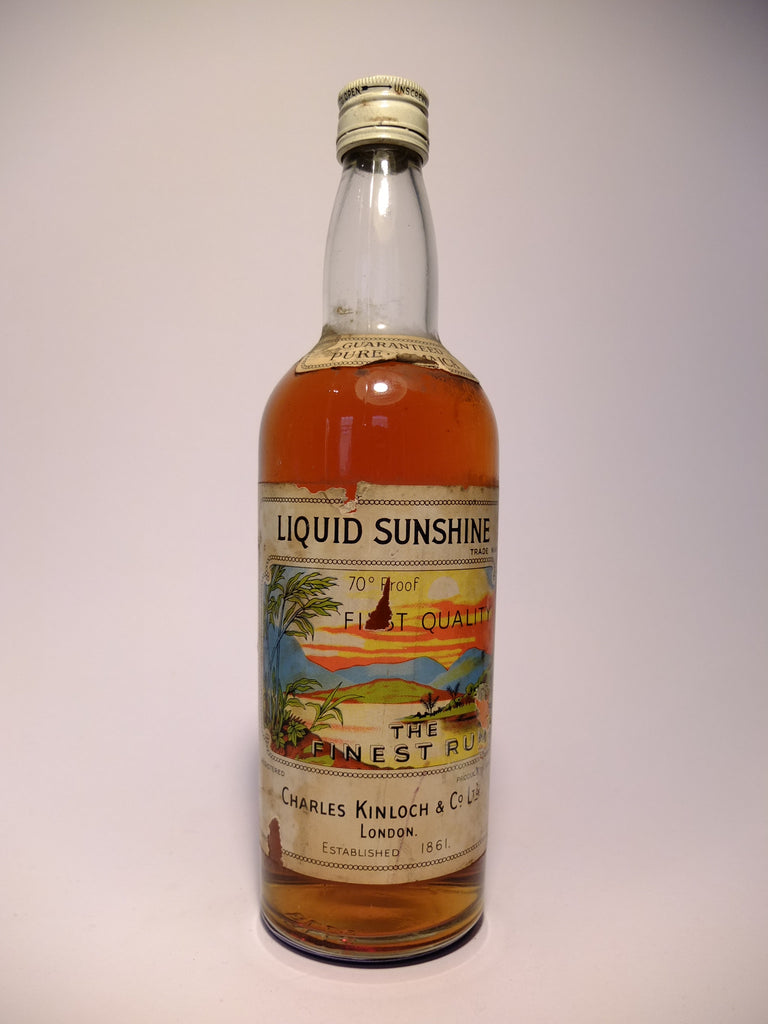 Liquid Sunshine, The Finest Rum - 1960s (40%, 70cl)