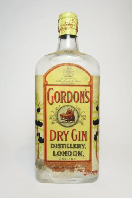 Gordon's Dry Gin (Export) - 1950s (40%, 75cl)