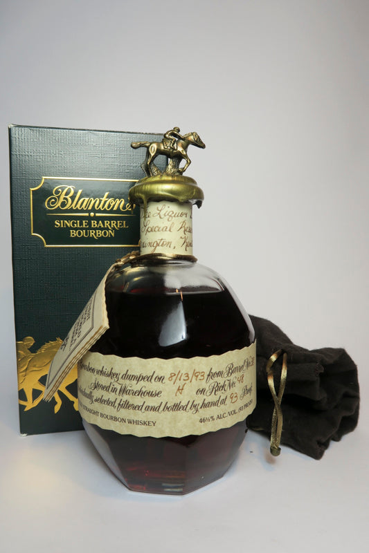 Blanton's Single Barrel Kentucky Straight Bourbon Whiskey - Dumped 1993 (43%, 75cl)