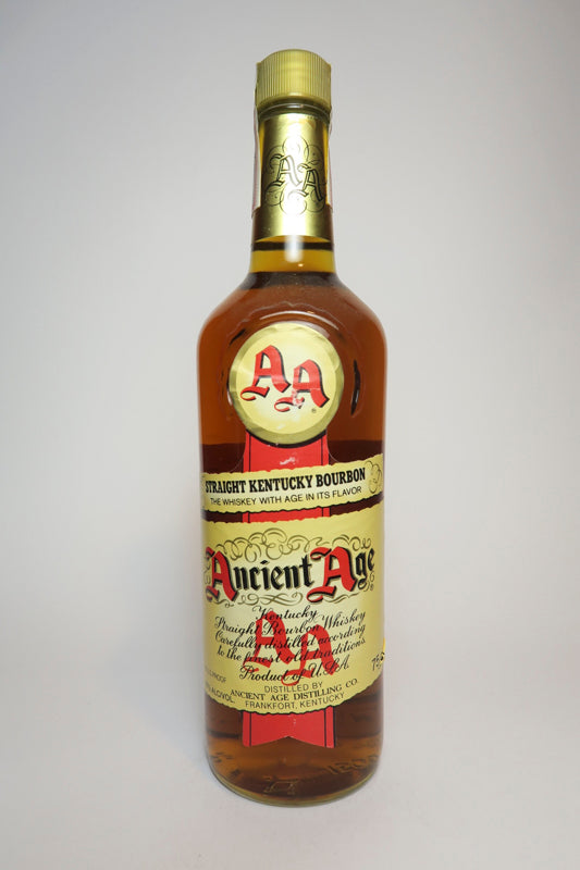 Ancient Age 4YO Kentucky Straight Bourbon Whiskey - 1970s (40%, 75cl)