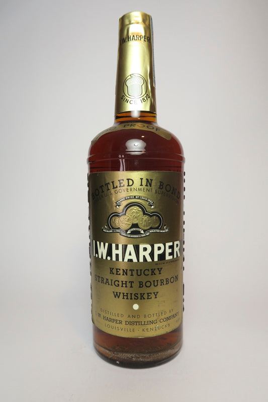 I.W. Harper 5YO Kentucky Straight Bourbon Whisky - Distilled 1952 / Bottled 1957 (50%, 75cl)