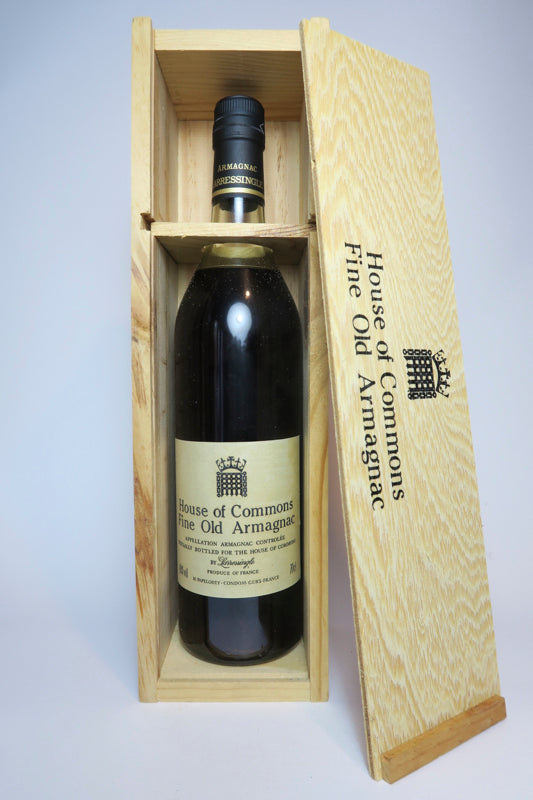 House of Commons Fine Old Armagnac, Larressingle - 1980s (40%, 70cl)