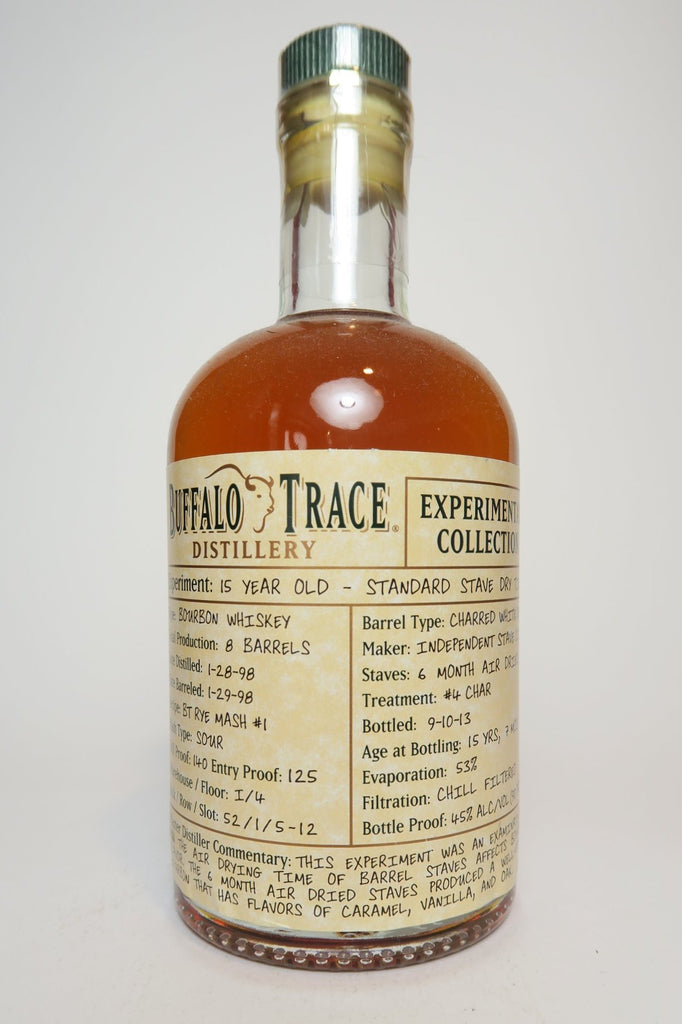 Buffalo Trace Experimental Collection 15YO Kentucky Bourbon Whiskey - Distilled 1998, Bottled 2013 (45%, 37.5cl)