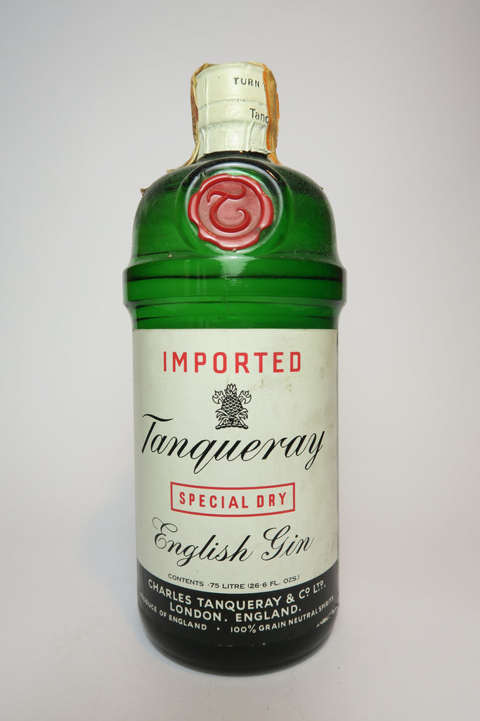 Tanqueray Special Dry English Gin - 1960s (40%, 75cl)