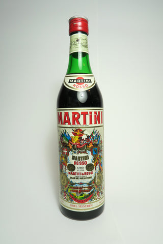 Martini & Rossi Red Vermouth - 1970s (15-16%, 75cl)