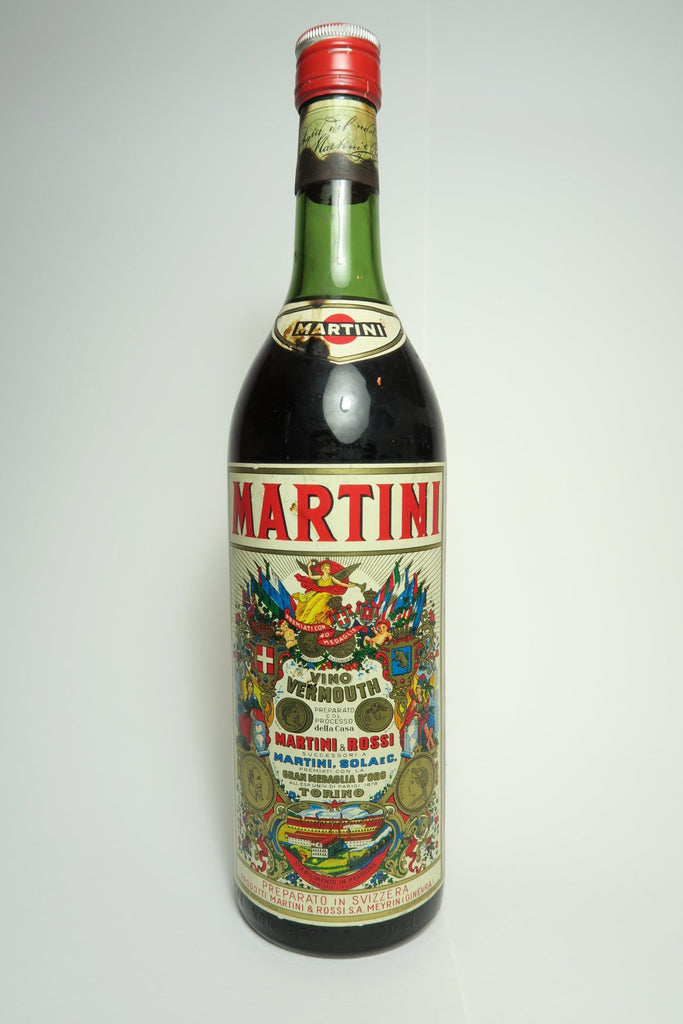Martini & Rossi Red Vermouth - 1970s (16%, 100cl)