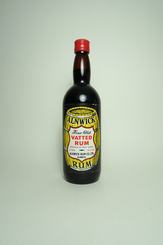 Alnwick Fine Old Vatted Rum, West Indies	- 1960s (40%, 75cl)