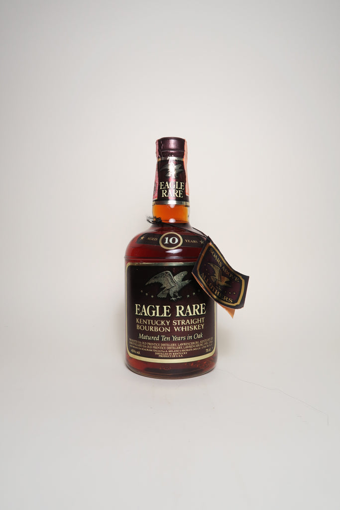 Eagle Rare 10YO Kentucky Straight Bourbon Whiskey - Distilled 1976, Bottled 1986 (45%, 75cl)
