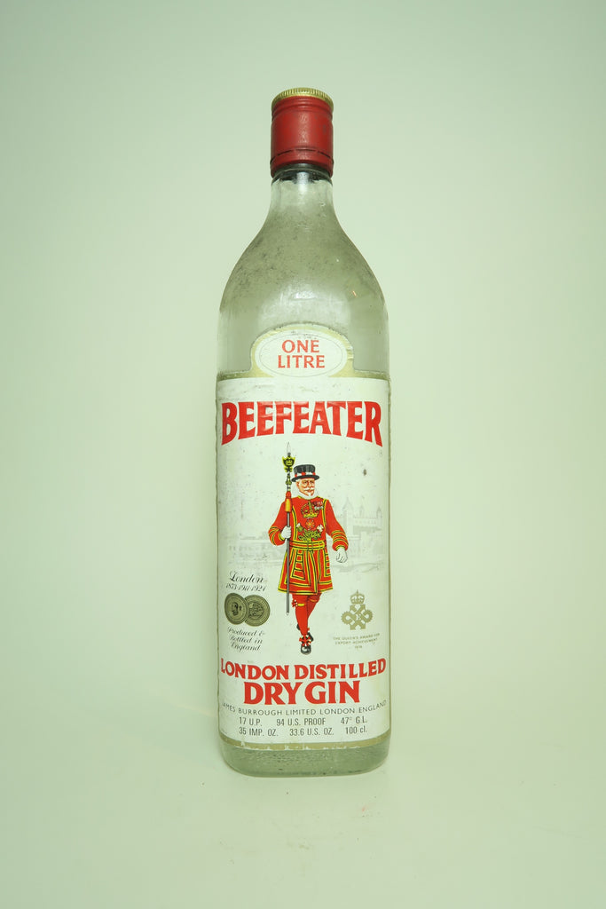 Beefeater London Dry Gin - c. 1976 (47%, 100cl)