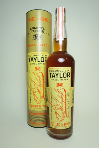 Colonel E.H. Taylor Small Batch Straight Kentucky Bourbon Whiskey - Bottled 2018 (50%, 75cl)
