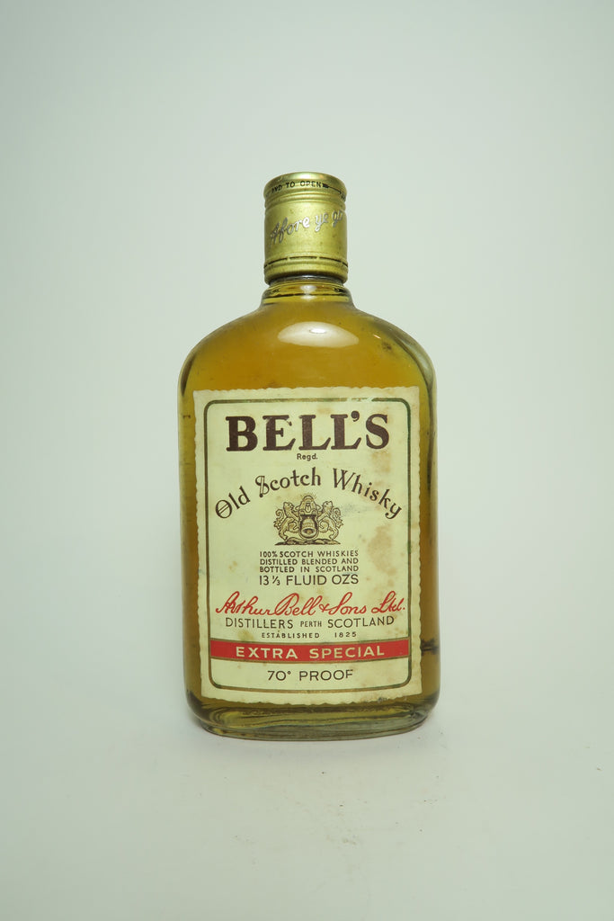Arthur Bell & Sons Bell's Old Blended Scotch Whisky - 1970s (40%, 37.5cl)