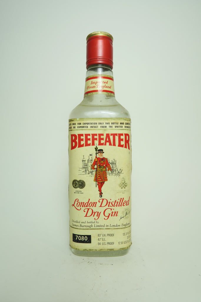 Beefeater London Dry Gin - 1976 (47%, c. 37.5cl)