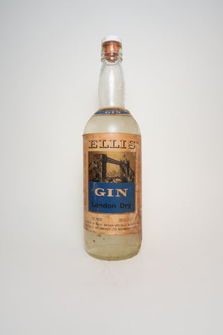 Ellis & Co. Ellis London Dry Gin - 1960s (37.1%, 75cl)