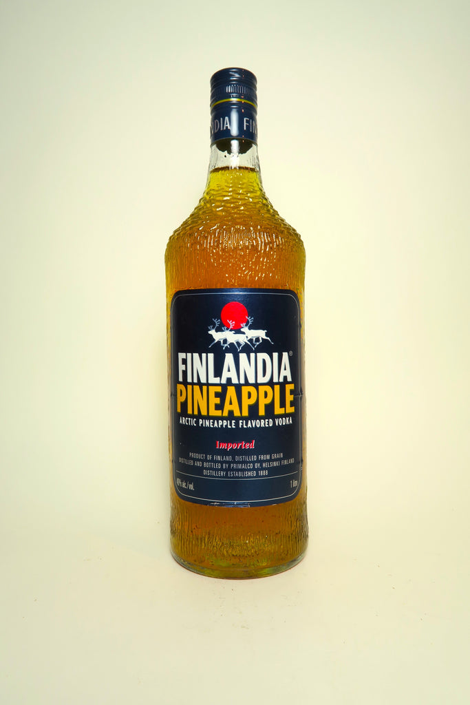 Finlandia Pineapple Vodka - 1980s (40%, 100cl)