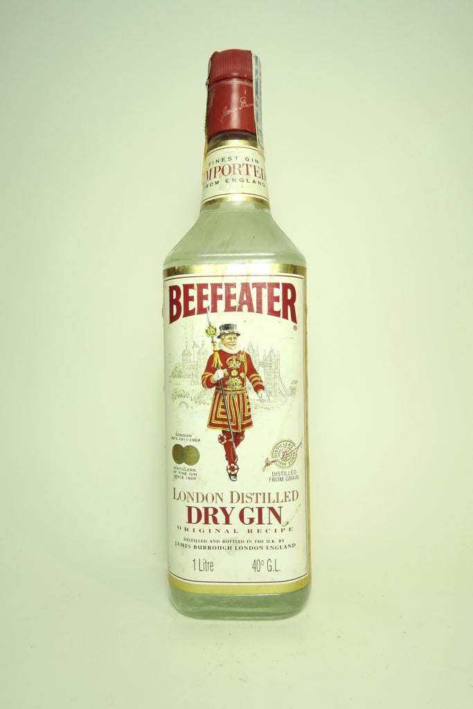 Beefeater London Dry Gin - 1980s (40%, 100cl)
