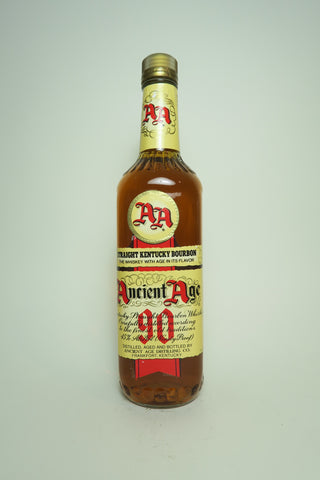 Ancient Age Kentucky Straight Bourbon Whiskey - Bottled 1994 (45%, 70cl)