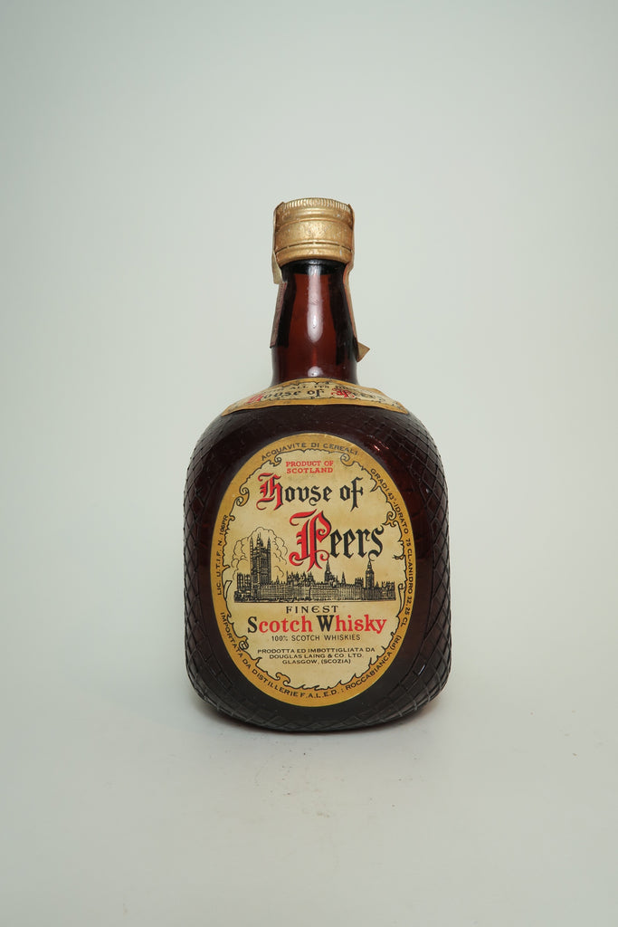 Douglas Laing & Co. House of Peers Blended Scotch Whisky - 1960s (43%, 75cl)