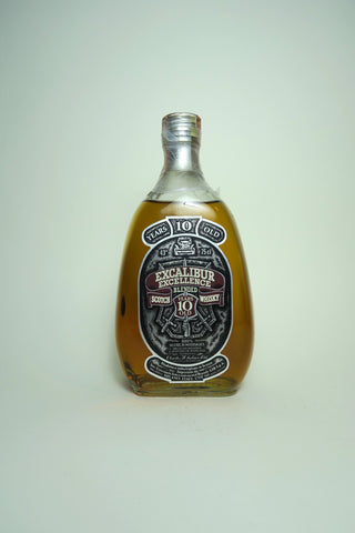 Charles H. Julian Ltd. Excalibur Excellence 10YO Blended Scotch Whisky - 1970s (43%, 75cl)