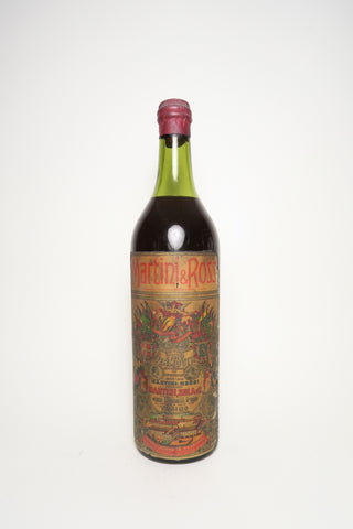 Martini & Rossi Sweet Red Vermouth - 1920s (ABV Not Stated, 100cl)