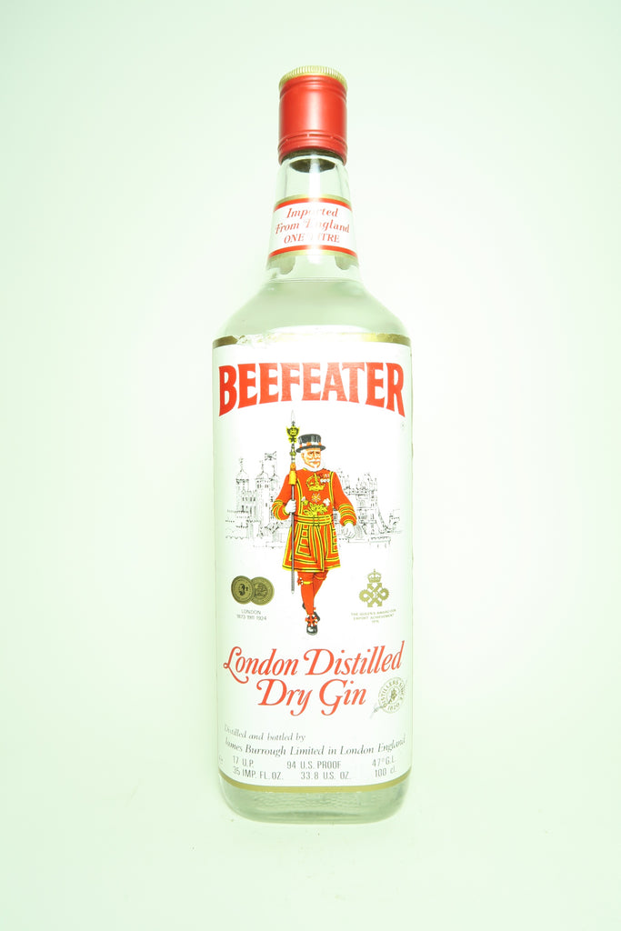 Beefeater London Distilled Dry Gin - c. 1976 (47%, 100cl)